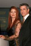 Debra Messing Dermot Mulroney Royaltyfri Fotografi