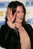 Debra Messing Megan Mullally royaltyfri fotografi