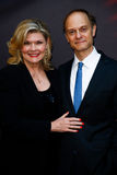 Debra Monk, David Hyde Pierce fotografie stock libere da diritti