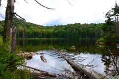 DeBraine See im Adirondacks Stockbild