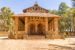 Debre Birhan Selassie Church in Gondar, Ethiopia Royalty Free Stock Images