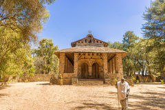 Debre Birhan Selassie Church in Gondar, Ethiopia Royalty Free Stock Photos