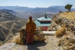 Debre Damo in Tigray, Äthiopien Stockfotografie