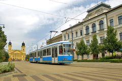 Debrecen city Royalty Free Stock Images