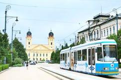 Debrecen city center Royalty Free Stock Photography