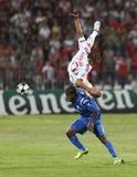 Debrecen contre Levski Sofia, allumette de CL de l'UEFA Photo libre de droits