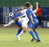 Debrecen contre Levski Sofia, l'UEFA Champions League Images libres de droits