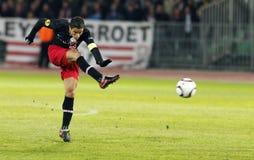 Debrecen contre PSV Eindhoven 1-2 Image libre de droits