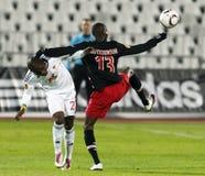 Debrecen contre PSV Eindhoven 1-2 Image stock