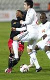 Debrecen contre PSV Eindhoven 1-2 Images stock