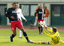 Debrecen contre PSV Eindhoven 1-2 Photographie stock libre de droits