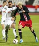 Debrecen contre PSV Eindhoven 1-2 Photo stock