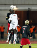Debrecen gegen PSV Eindhoven 1-2 Stockfotografie