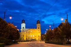 Debrecen landmarks Royalty Free Stock Image
