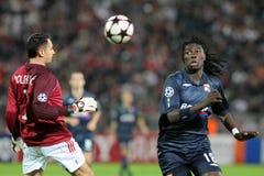 Debrecen - Lyon UEFA Champions League match Royalty Free Stock Photos