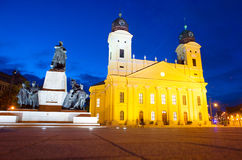 Debrecen Reformed Great Church Royalty Free Stock Photos