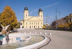 Debrecen Ungern Arkivfoton
