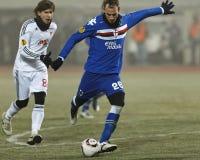 Debrecen vs. Sampdoria 1-2 Stock Images