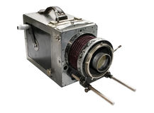 Debri old movie camera Stock Photo