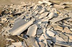 Debris construction site Royalty Free Stock Image