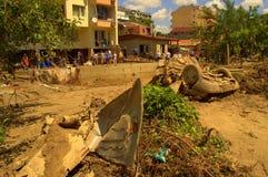 Debris аfter flooding Varna Bulgaria June 19 Royalty Free Stock Photos