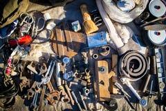 Debris and Junk Tools Stock Photos