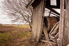 Debris In An Old Barn Royalty Free Stock Photo