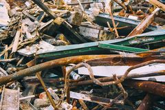 Debris old Metal Royalty Free Stock Image