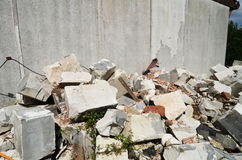 Debris Royalty Free Stock Photo