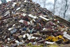 Debris pile Royalty Free Stock Image
