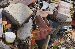 Debris pile Royalty Free Stock Photography