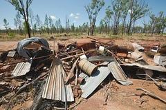 Debris pile Stock Image