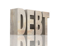 Debt Stock Photos