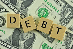Debt Royalty Free Stock Photography