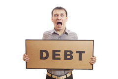Debt. Stock Photos