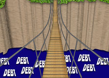 Debt Bridge Stock Photography