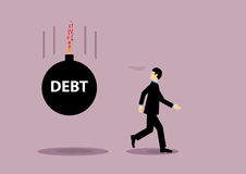 Debt Burden Stock Photography