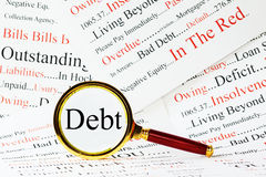 Debt Concept Royalty Free Stock Photo