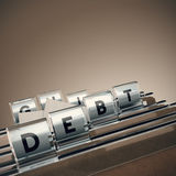 Debt Management Stock Photos