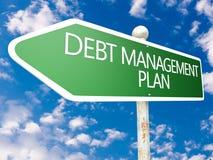 Debt Management Plan Royalty Free Stock Photos