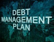 Debt Management Plan Stock Image