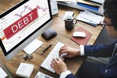 Debt Obligation Banking Finance Loan Money Concept Stock Photography