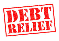 DEBT RELIEF Stock Photos