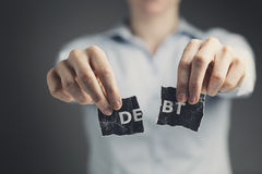 Debt Solution Concept Stock Images