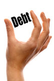 Debt Royalty Free Stock Photo