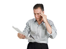 Debtors Headache Stock Image