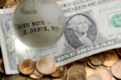 Debts Stock Images