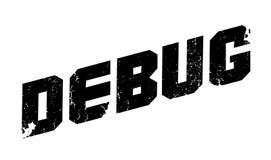 Debug rubber stamp Stock Image
