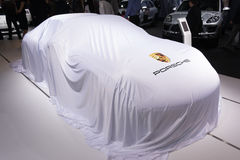 Debutto di Porsche Fotografia Stock