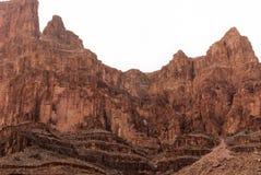 2015-Dec het Nationale Park van Grand Canyon de V.S. Stock Fotografie